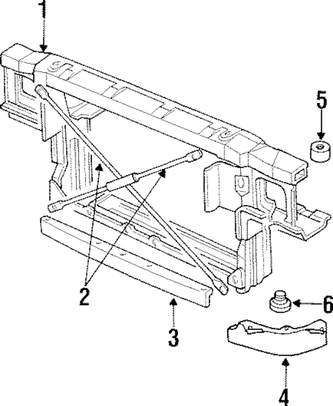 1995 Pontiac Grand Prix Front Suspension Diagram