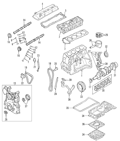 Nissan Sentra Radiator Components Parts Diagram Car Parts Diagram