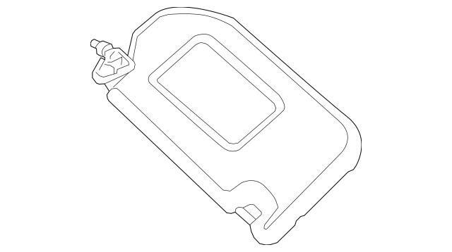 Sun-visor for 2014 Nissan Pathfinder|96401-9PB6A