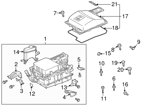 Genuine OEM ELECTRICAL COMPONENTS Parts for 2008 Toyota