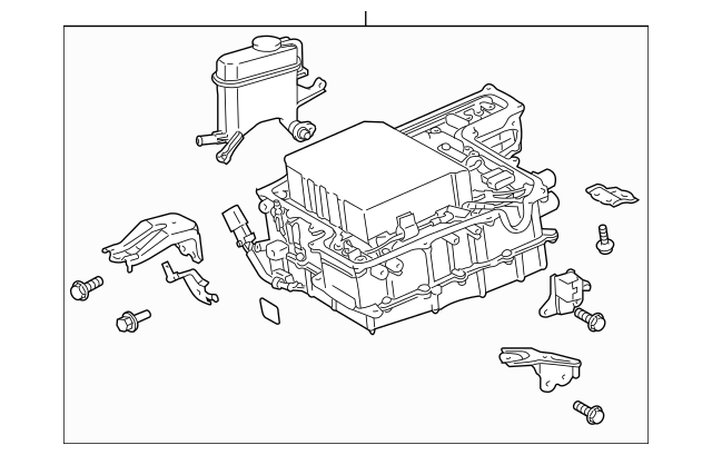 2004-2009 Toyota Prius Inverter Assembly G9200-47121