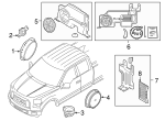 Genuine OEM 2015-2018 Ford F-150 Audio Upgrade, Sub-Woofer