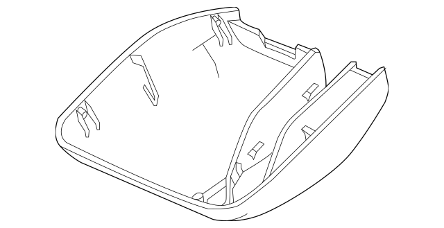 2013-2015 Honda CROSSTOUR 5-DOOR Cover Assembly 76415-TP6