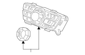 2014-2017 Acura MDX 5-DOOR Switch Assembly, Multi Jog
