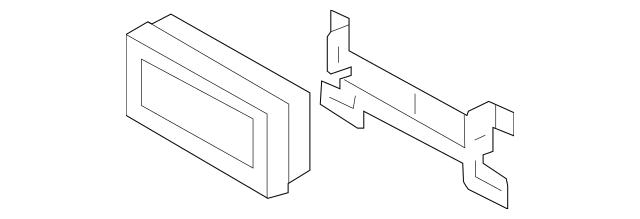 Genuine OEM Display Unit Part# 96563-3M851 Fits 2009-2014