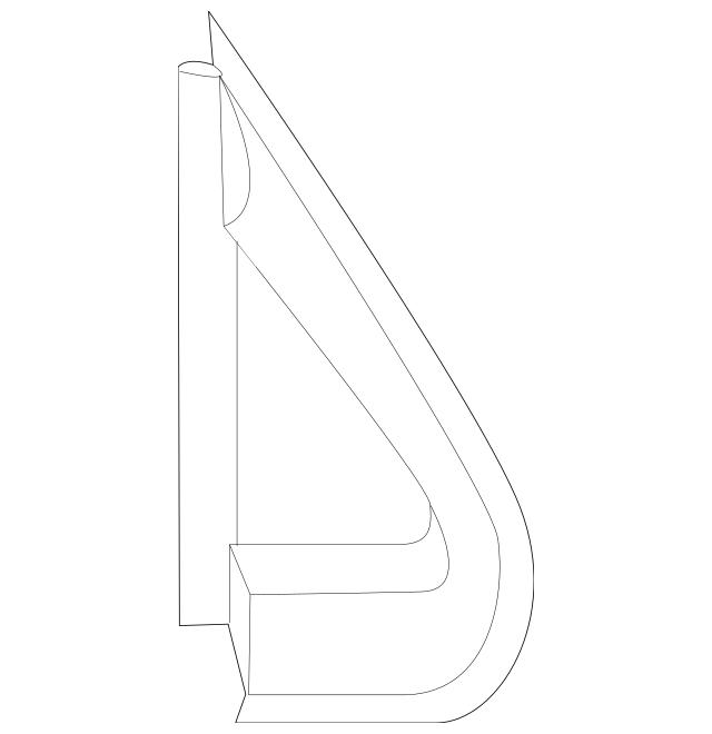 Car & Truck Interior Parts Genuine Mopar Corner Molding