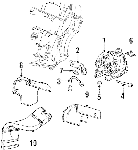 ALTERNATOR Parts for 1997 Chevrolet Lumina