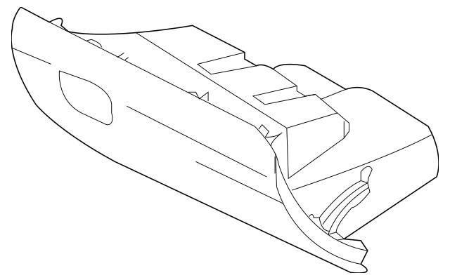 2012-2013 Kia Soul Glove Box Assembly 84510-2K520WK