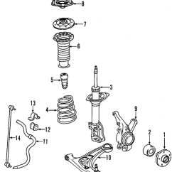 2007 Toyota Yaris Trd Parts All New Genuine Oem Suspension Components For 2008 S Front 1