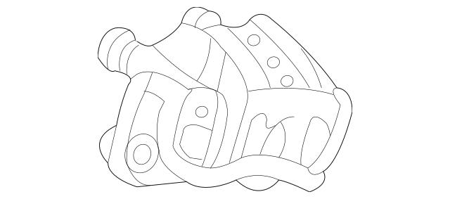 2007-2014 Kia Sedona Disc Brake Caliper 58310-4DA00
