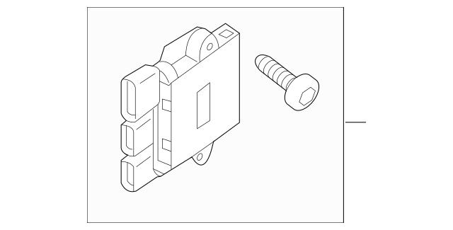 2013-2019 Nissan Pathfinder Control Module 21493-3JA0E