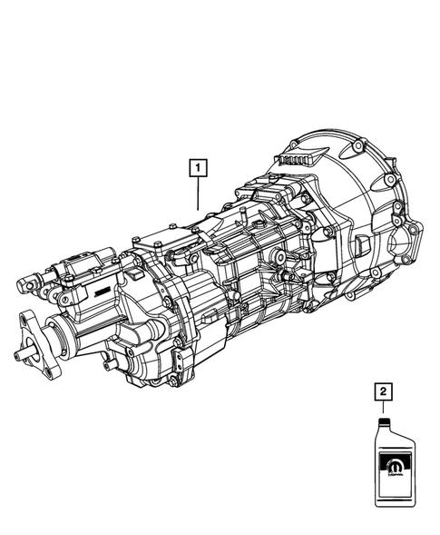 Manual Transmission / Transaxle for 2010 Dodge Challenger
