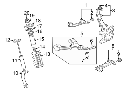 33 2002 Chevy Trailblazer Front Suspension Diagram
