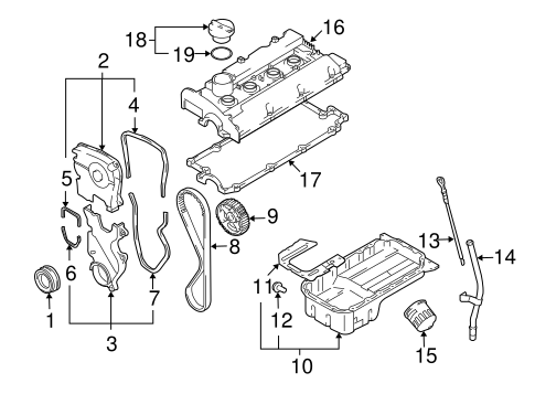 Engine Parts for 2006 Hyundai Tucson