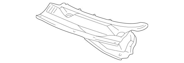 OEM Genuine GM Cowl Panel Windshield Wiper Motor Cover 03