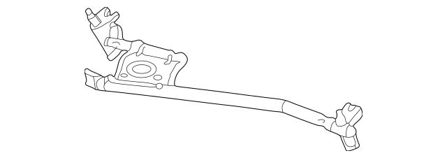 Mercedes-Benz Wiper Transmission (170-820-01-12