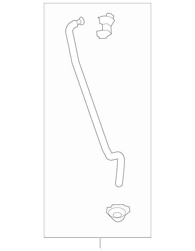 2014-2017 Honda Rod Set, L Rear Door Latch 72653-T3V-305