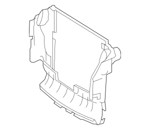 Mercedes-Benz Air Baffle (251-500-09-16) For Sale