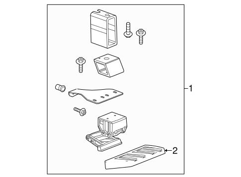 OEM 2016 GMC Sierra 2500 HD Running Board Parts