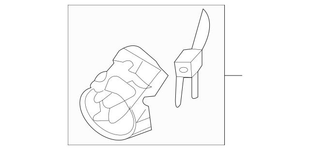 2006-2014 Kia Sedona Ignition Lock Cylinder 81900-4DC00