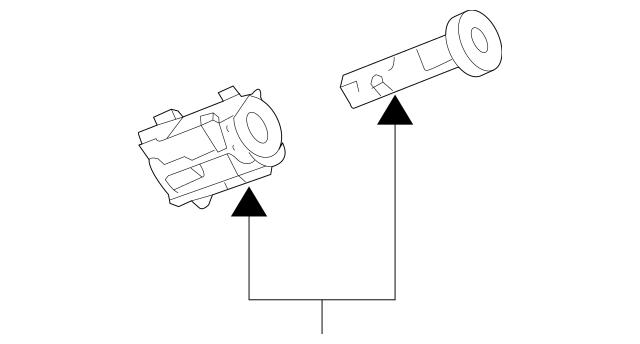 Genuine OEM Ignition Lock Cylinder Part# 19207987 Fits