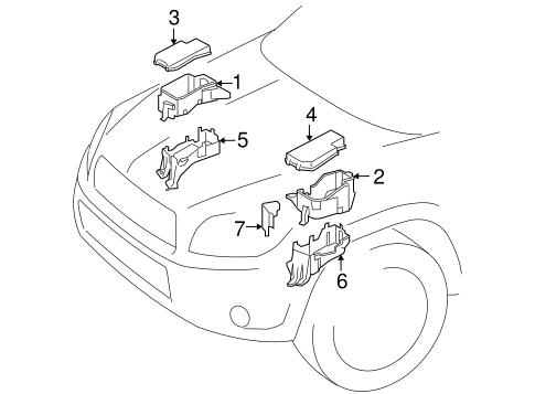 Genuine OEM Fuse & Relay Parts for 2010 Toyota RAV4 Base