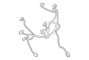 Genuine OEM 2010-2016 Cadillac SRX Wire Harness 20782685