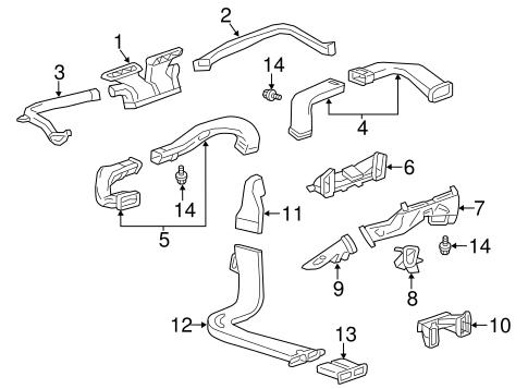 OEM 2015 Cadillac ATS Automatic Temperature Controls Parts