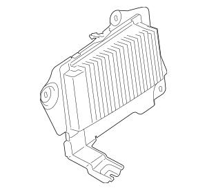 Genuine OEM 2012 Lincoln MKX Amplifier CA1Z-18B849-C