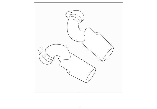 2010-2015 Audi Q7 Tailpipe Extension 4L0-071-771-B