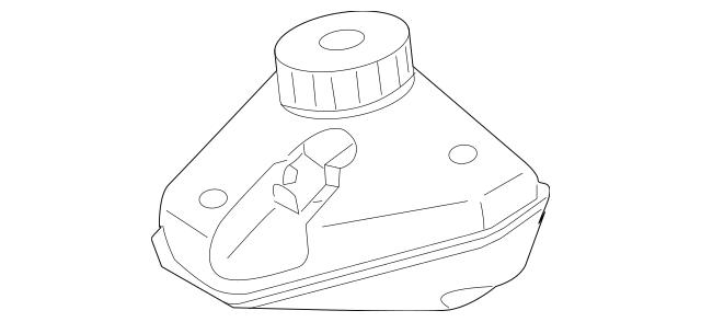 2007-2014 Mercedes-Benz Master Cylinder Reservoir 221-430