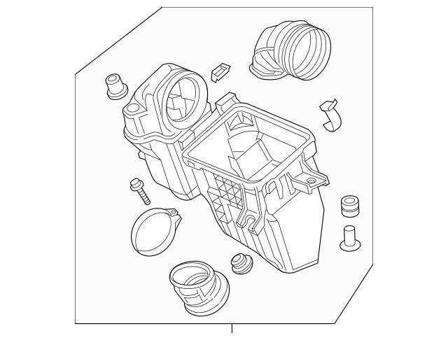 2014-2015 Honda Case Set, Air Cleaner 17201-5K0-A00