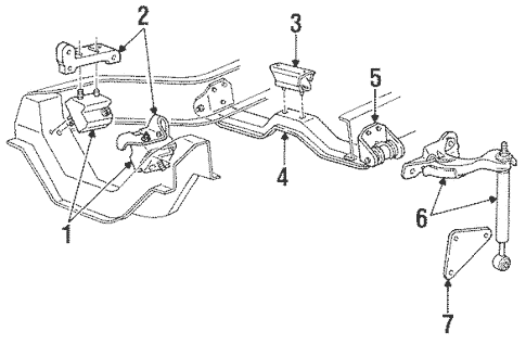 1997 Ford Ranger Exhaust System Diagram