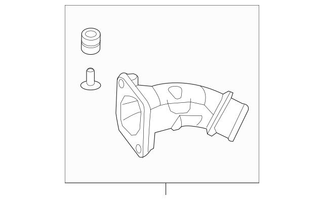 2017-2019 Honda CIVIC 5-DOOR Pipe Assembly, Inter-Cooler
