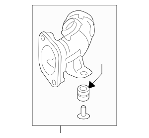 Honda Pipe Assembly, Inter-Cooler Outlet 17291-5BF-A00