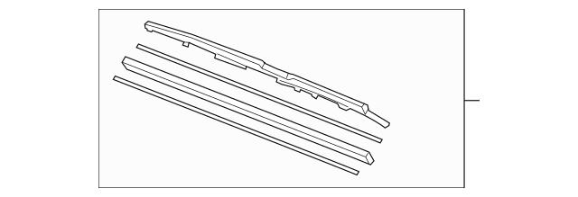 2005-2012 Acura RL SEDAN Blade, Windshield Wiper (700MM