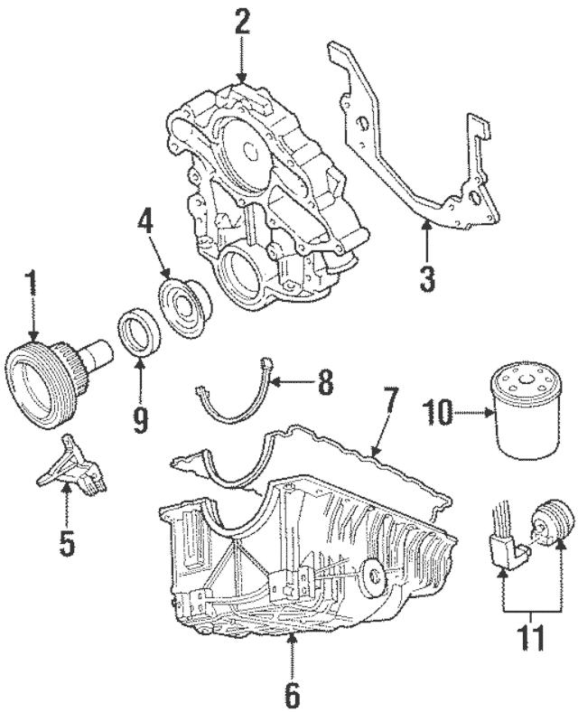 Genuine Crankshaft Position Sensor for 1990-1999 Ford Part