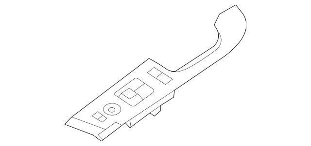 Genuine OEM Window Switch Part# 93570-1M710WK Fits 2010