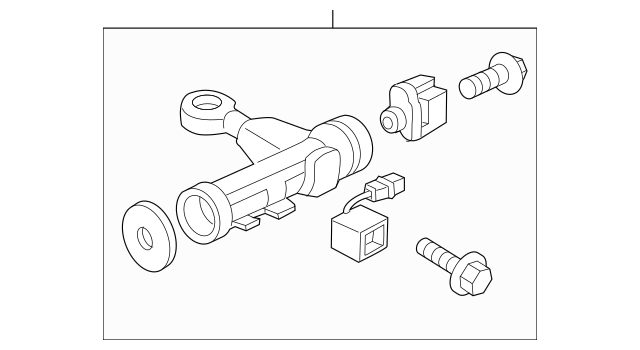 2009-2014 Hyundai Genesis Ignition Lock Cylinder 81910