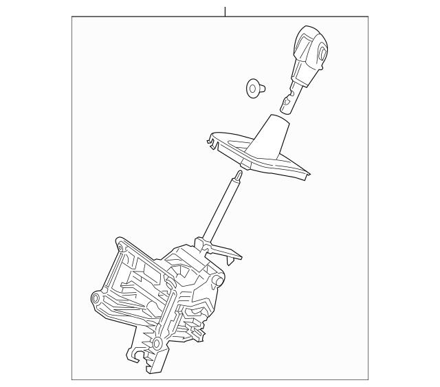 Genuine OEM 2013-2014 Ford Escape Shifter Assembly EJ5Z