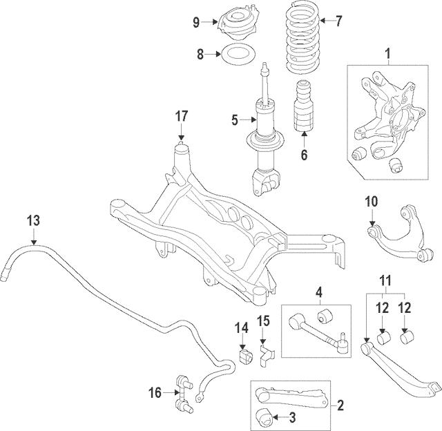 2008-2018 Subaru Stabilizer Bar Bushing 20464SC010
