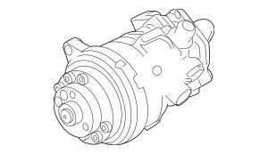 Genuine OEM Power Steering Pump Part# 32-41-6-787-346 Fits