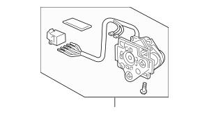 Discount Genuine OEM 2008-2012 Honda Actuator, L (Flat