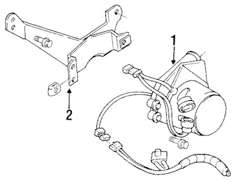 OEM EMISSION COMPONENTS for 1984 Chevrolet Corvette