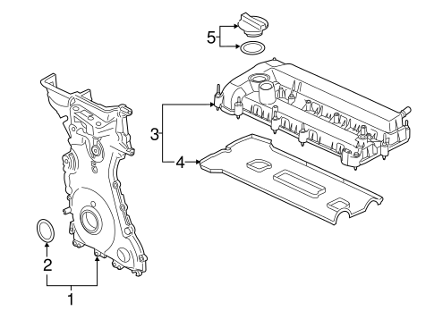 Valve & Timing Covers for 2014 Ford Transit Connect