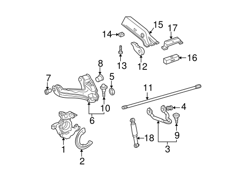 Suspension Components for 1997 GMC K1500 Pickup