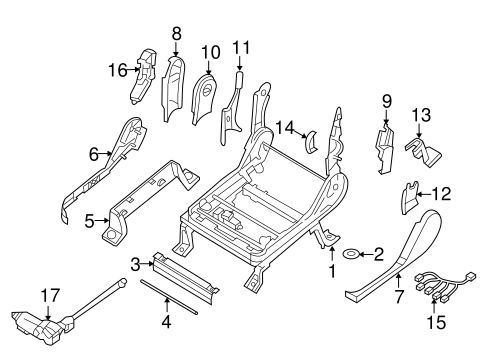 TRACKS & COMPONENTS for 2004 Nissan Titan