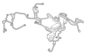 Genuine 2016-2017 Honda CIVIC SEDAN Wire Harness, Engine