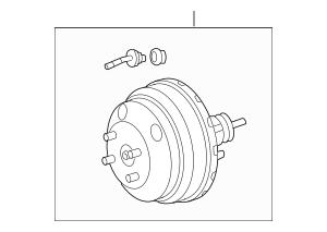 Genuine OEM Brake Booster Part# 44610-04060 Fits 1995-2000