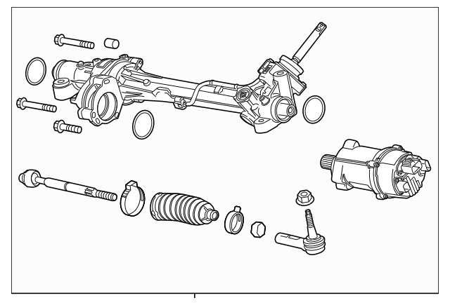 2012-2015 Chevrolet Camaro Rack And Pinion Assembly